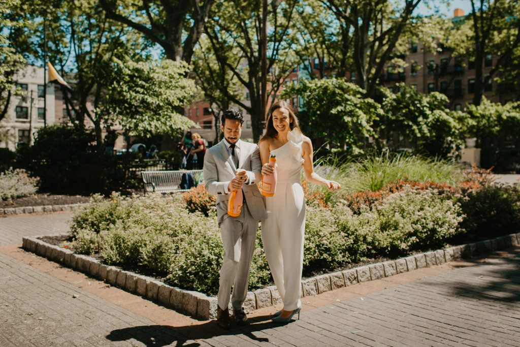 Last Minute Elopement in Hoboken