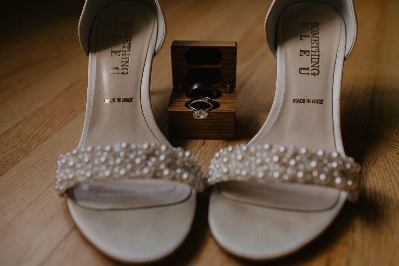 Wedding Shoes and NJ Wedding Rings