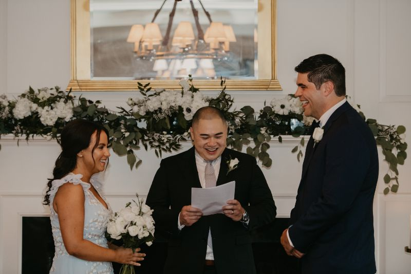 New Jersey Micro Wedding at Essex Fells Country Club