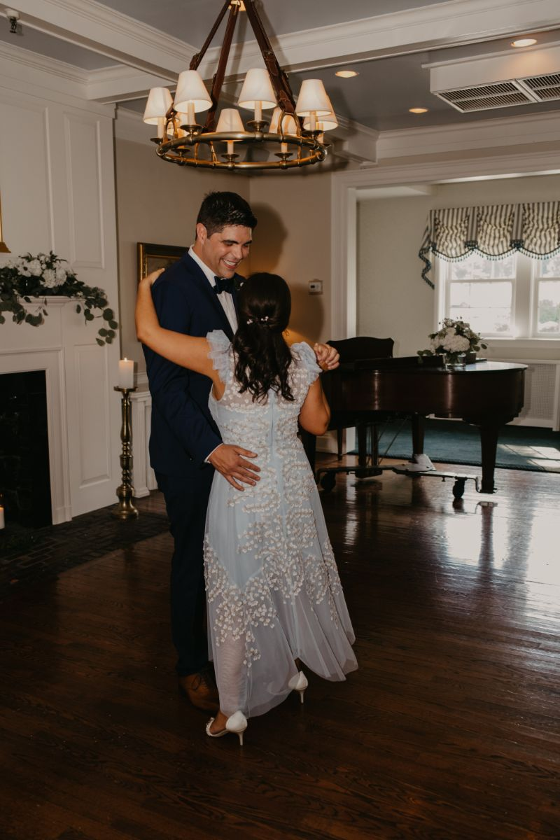 First Dance at Essex Fells Country Club in Hoboken New Jersey