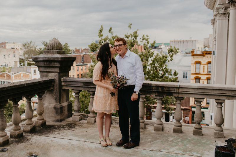 city hall wedding in jersey city