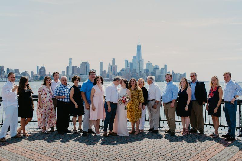 Small wedding at Pier A Hoboken