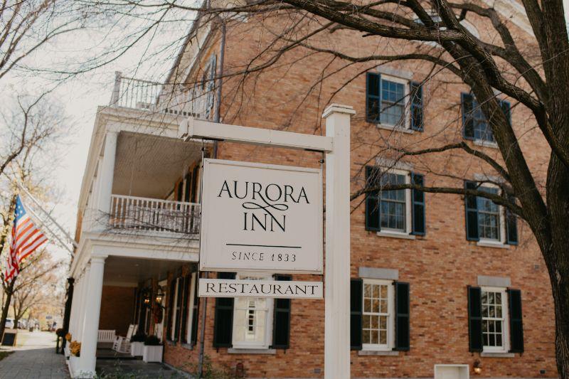 Wedding Detail Photos at Aurora Inn
