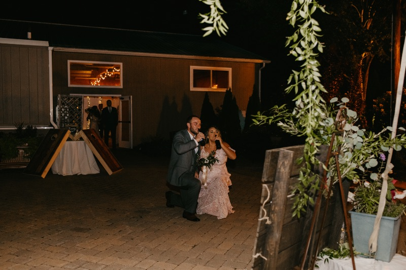 Fun Bridal Party Entrance in New Jersey