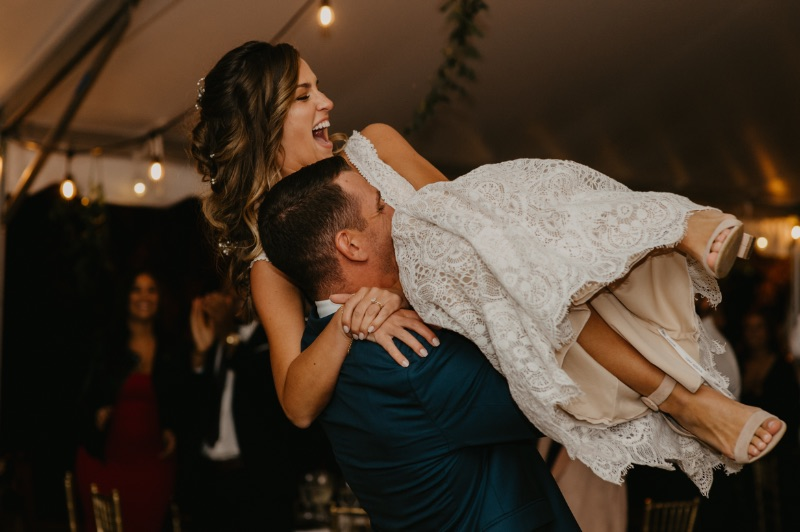 New Jersey First Dance at The Conservatory at the Sussex Fairgrounds wedding