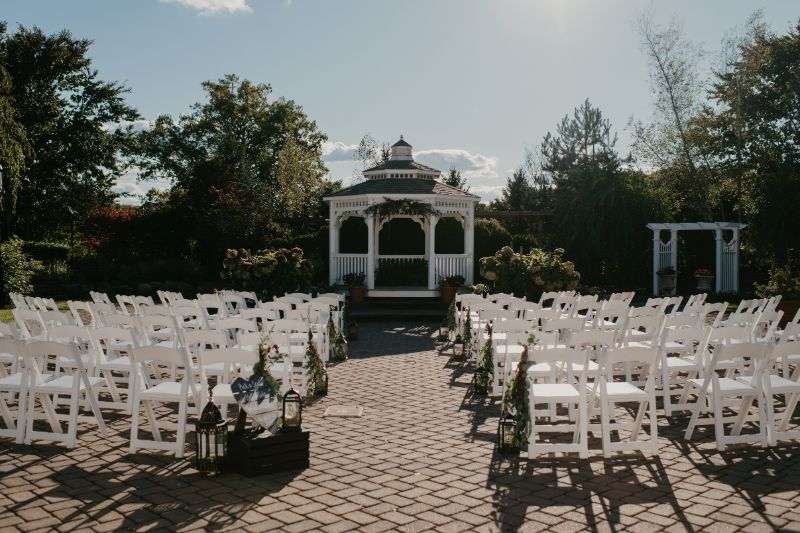The Conservatory at the Sussex County Fairgrounds Wedding Ceremony