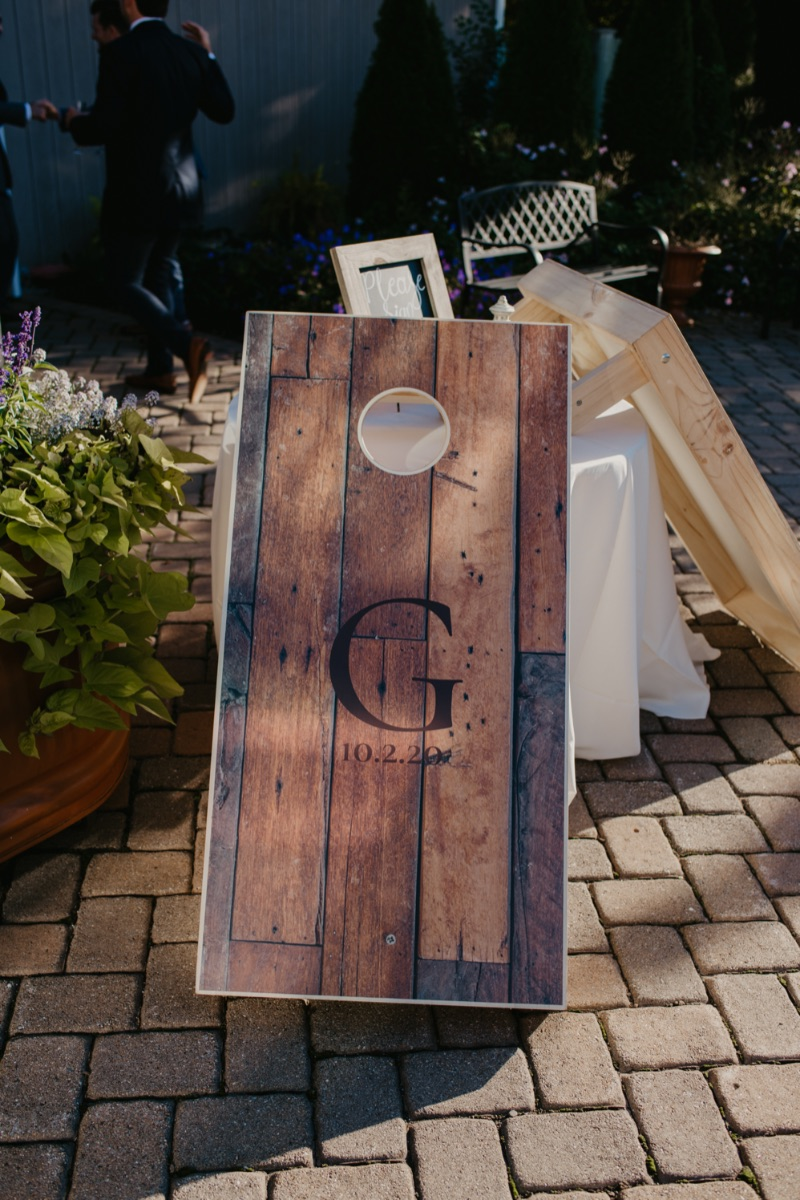 New Jersey Wedding Guest Book Alternative