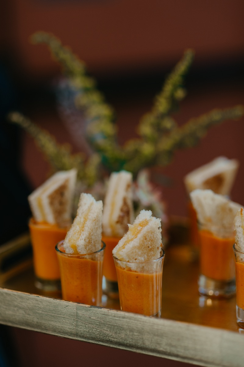 COVID friendly catering in New Jersey individual portioned appetizers
