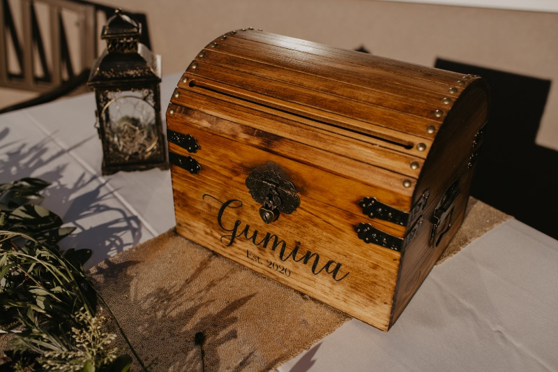 New Jersey Wedding Card Box