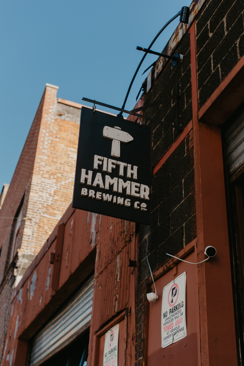 Fifth Hammer Brewing Company Sign