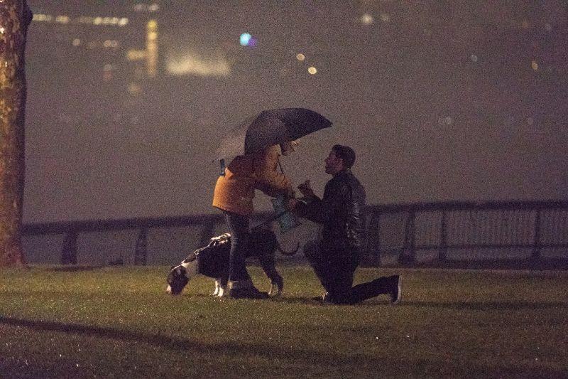 Hoboken New Jersey Wedding Proposal Photos