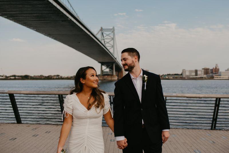Pennsylvania waterfront elopement under Quakers Law