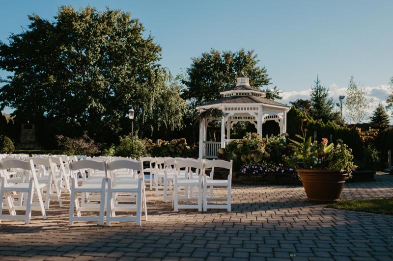 New Jersey wedding ceremony gazebo