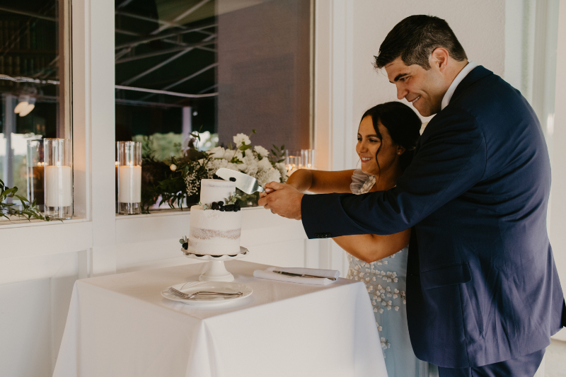 outdoor country club wedding in new jersey