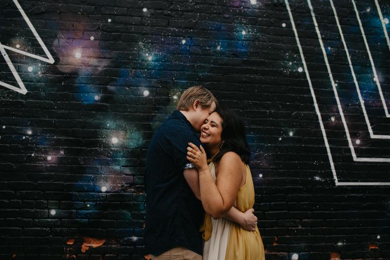 Unique Jersey City Engagement Photos