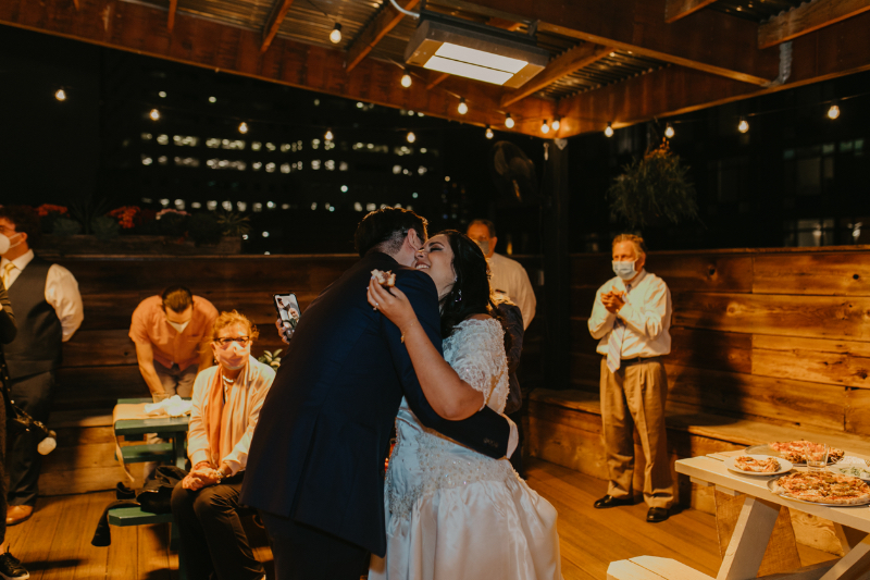 Jersey Wedding Reception at Porta