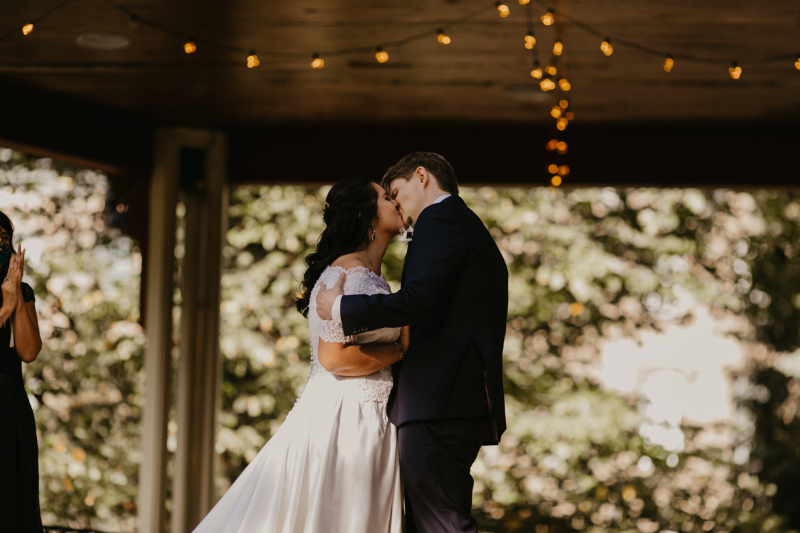 Jersey City Wedding ceremony at Van Vorst Park