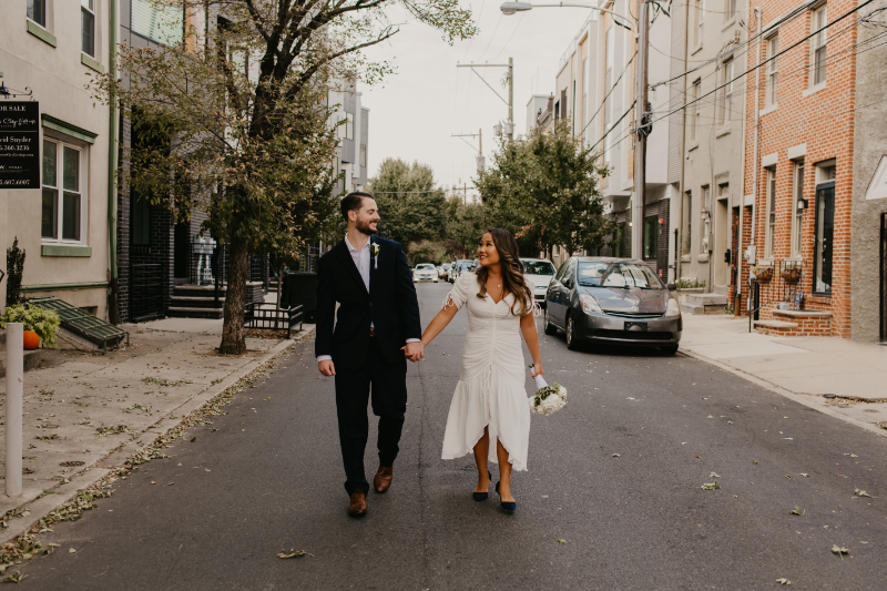 Philadelphia wedding ceremony without an officiant