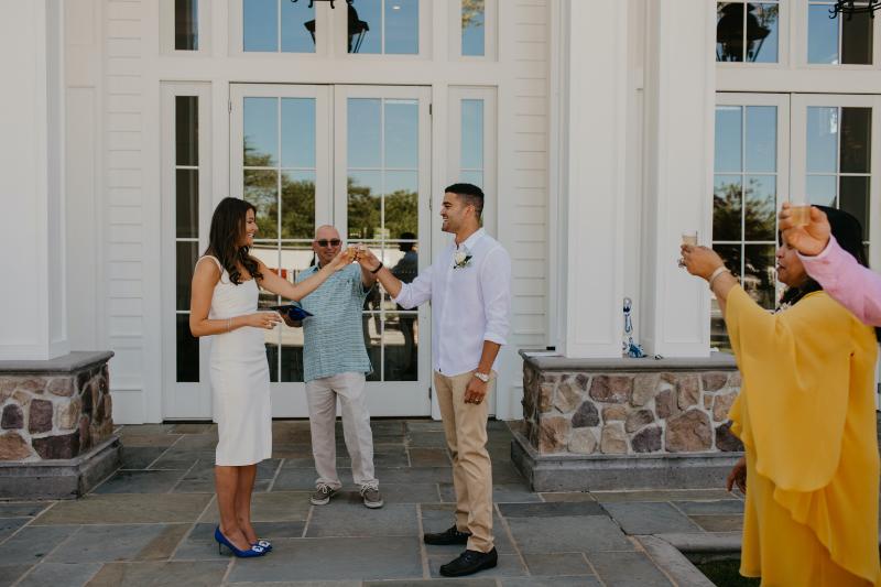 Ryland Inn Wedding Ceremony