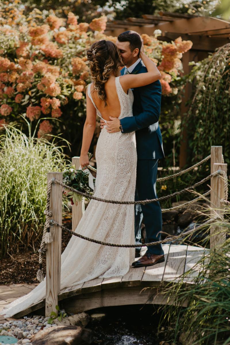 outdoor tented wedding in new jersey