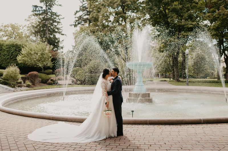 New Jersey outdoor wedding photography