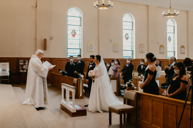Filipino Catholic Wedding Ceremony in New Jersey