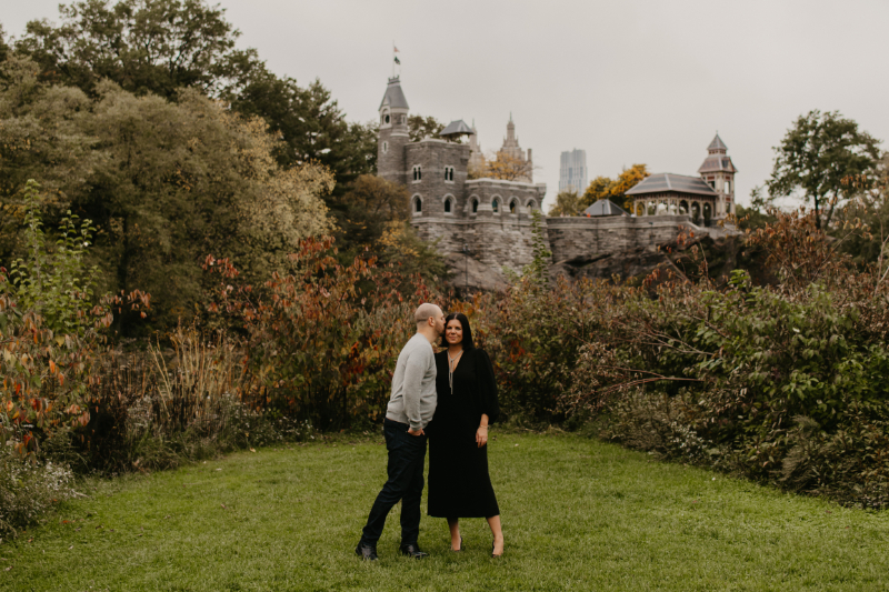 New Jersey Outdoor Engagement Photos