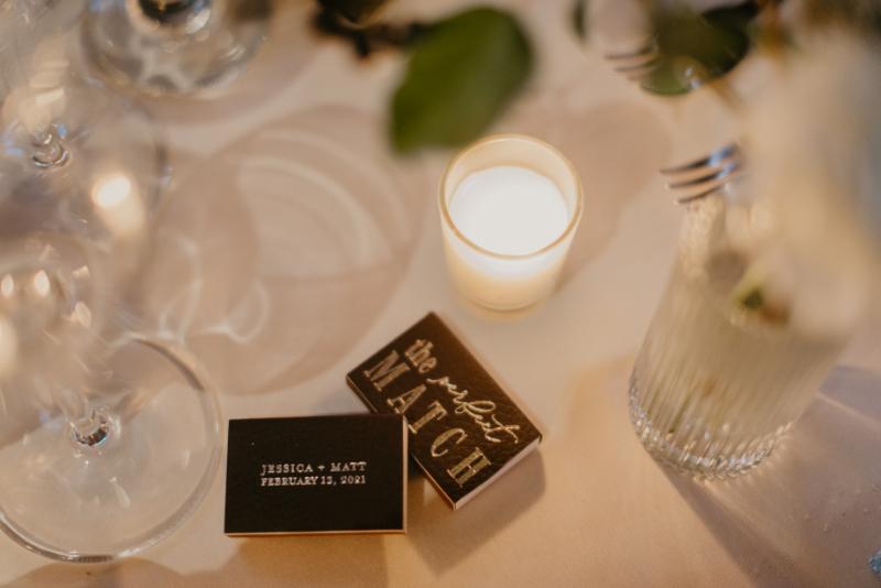 Perfect Match wedding favors