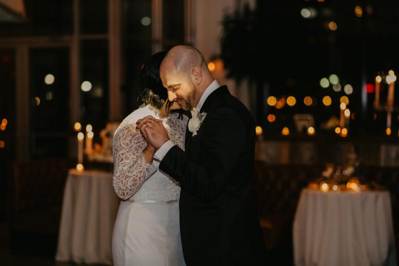 Battello wedding reception first dance