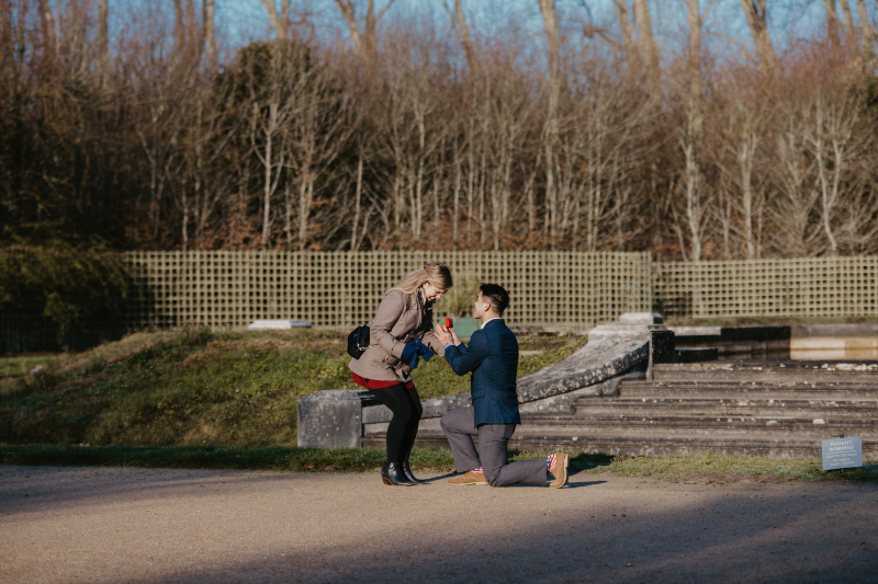 Versailles Proposal Photo