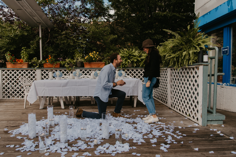 Stunning proposal photos in New Jersey