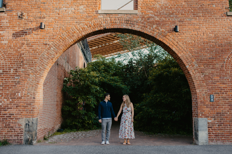Brooklyn engagment photos