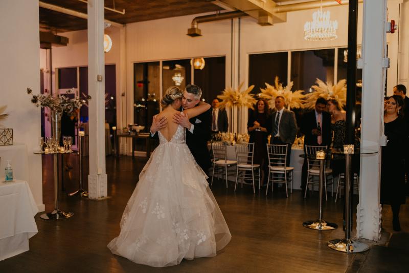 Stunning Wedding Reception at the Antique Loft Hoboken