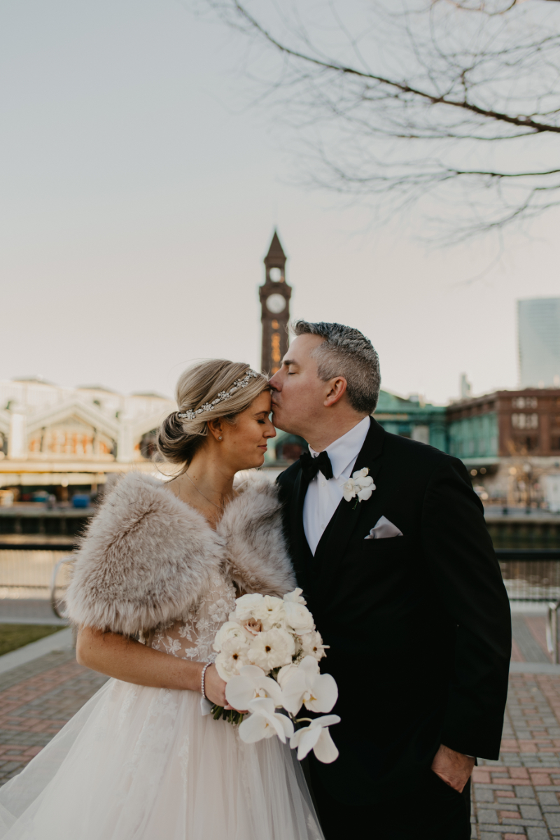 Winter Wedding in Hoboken, New Jersey