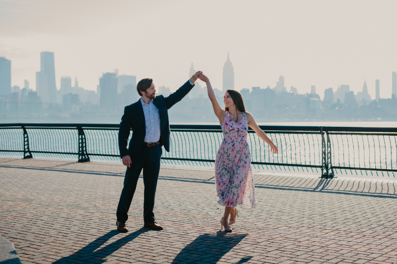 dresses for outdoor engagement photos in new jersey
