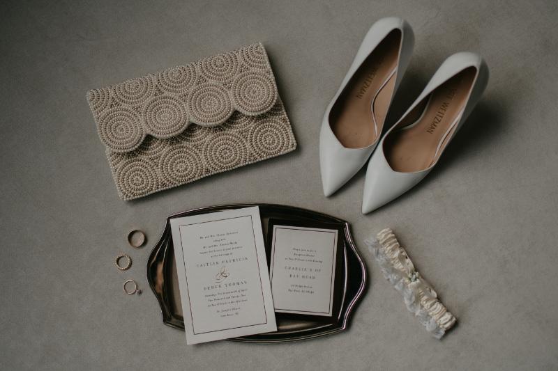 Wedding Detail Photos in Hotel Room