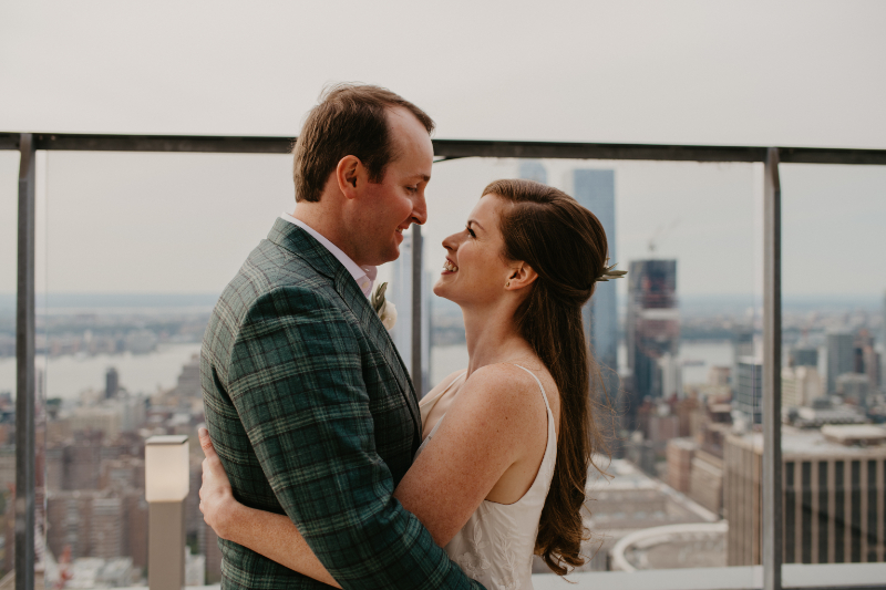 pose ideas and prompts for wedding couples where they pull each other close