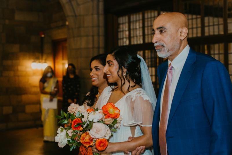 Church wedding ceremony in Jersey City
