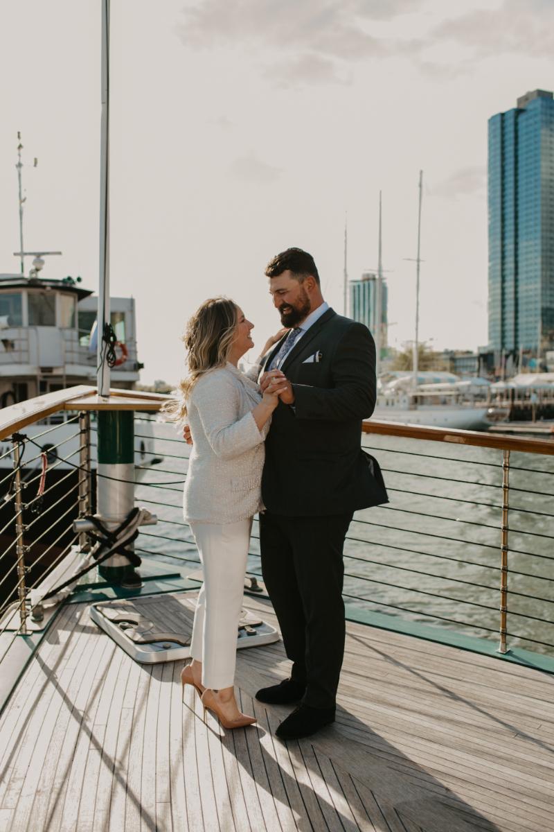 Yacht Wedding in New Jersey