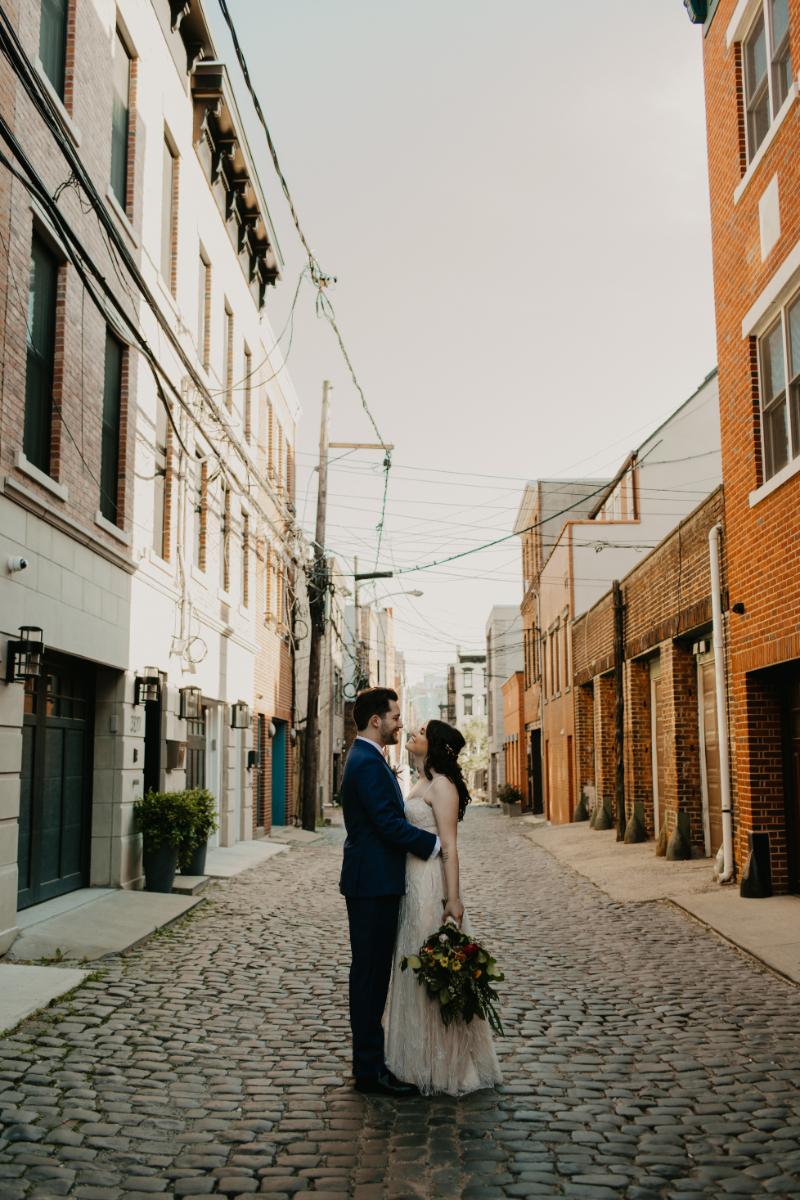 Court Street Hoboken Wedding Photos