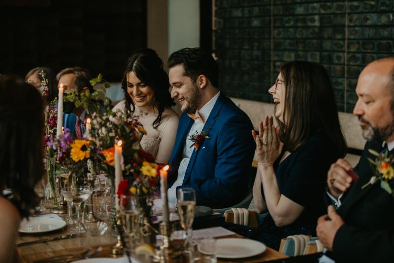 Micro wedding reception at Halifax Hoboken