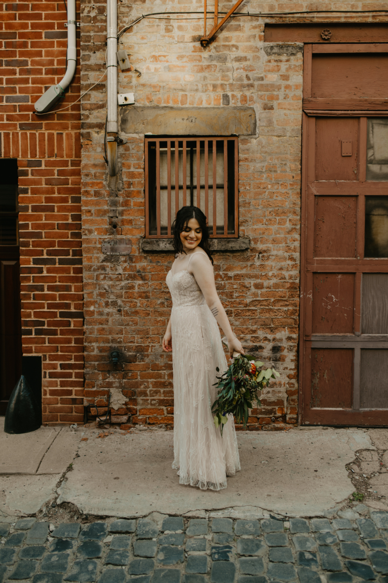 Solo Shot of New Jersey Bride
