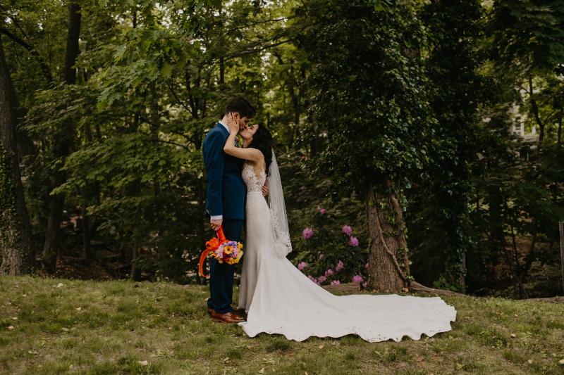 New Jersey Wedding Photos Outdoors