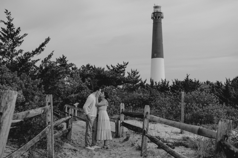 Lighthouse Engagement Photos